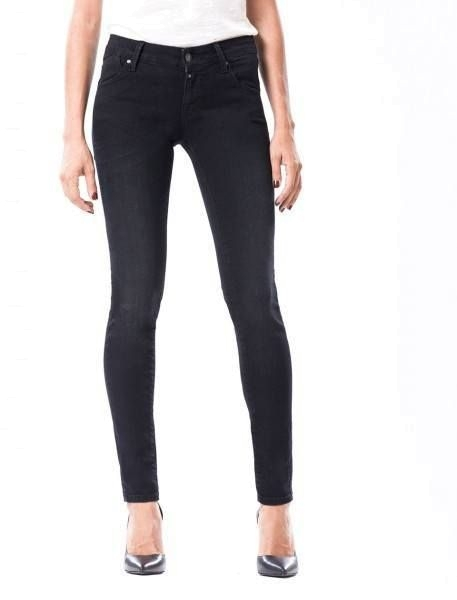 "CUP OF JOE Damen Jeans - ""Gina Denim black vintage"""