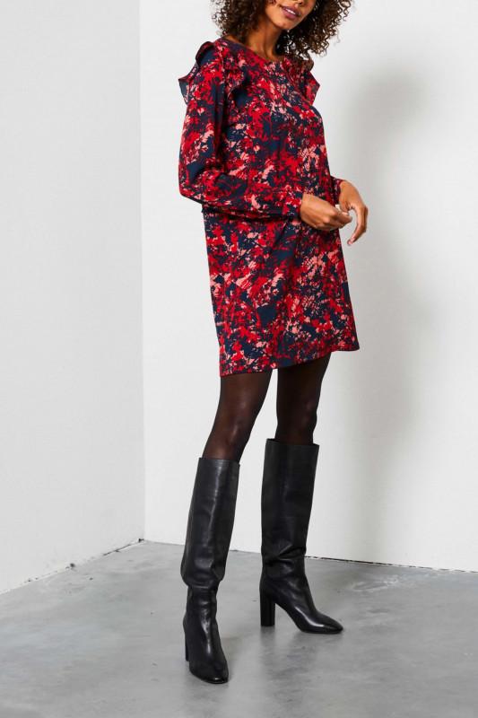 "PETROL Damen Kleid - ""Dress salsa"""