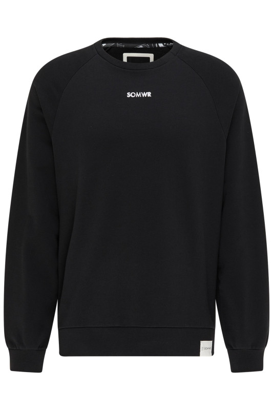 "\SOMWR Herren Sweatshirt - ""Refresh Sweater black M-SW-02"""