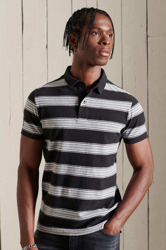 "SUPERDRY Herren Poloshirt - ""Academy Stripe Polo"""