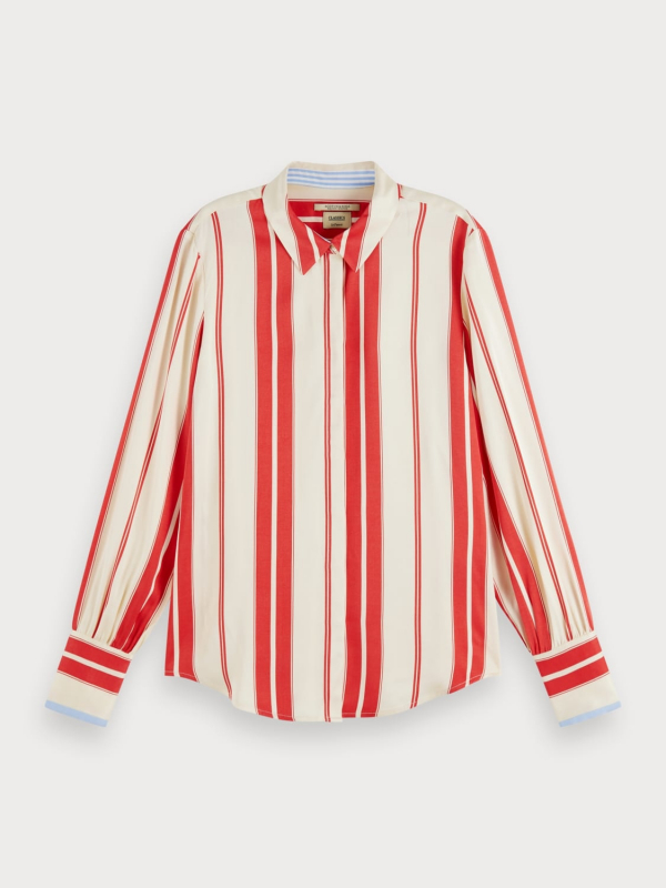 """SCOTCH & SODA Damen Bluse - """"Regular Fit Clean Viscose Shir"""""""