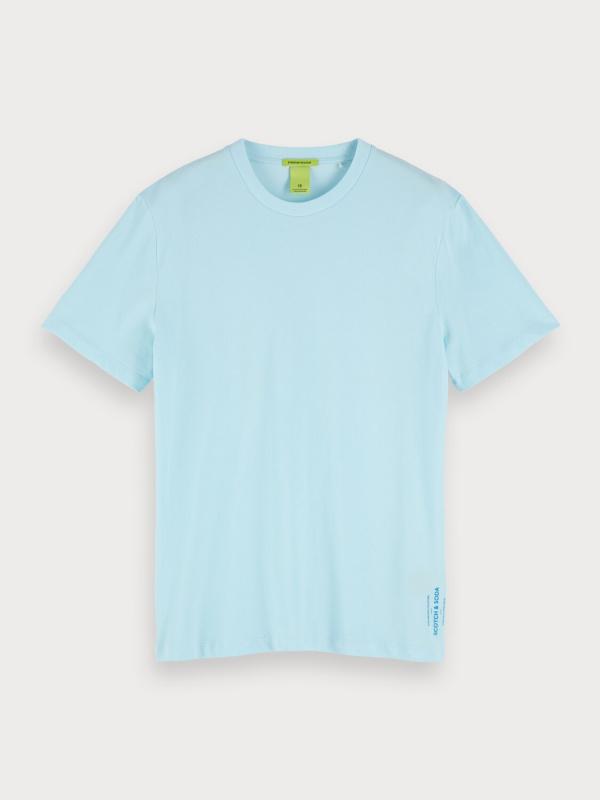 "Scotch & Soda Herren T-Shirt - ""Classic pique crewneck tee"""