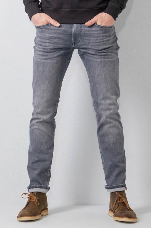 "PETROL Herren Jeans - ""Russel Denim Tapered Reg.grey"""