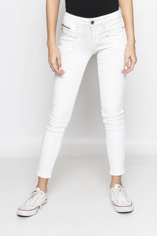 "Freeman T. Porter Damen Jeans - ""ALEXA cropped white"""