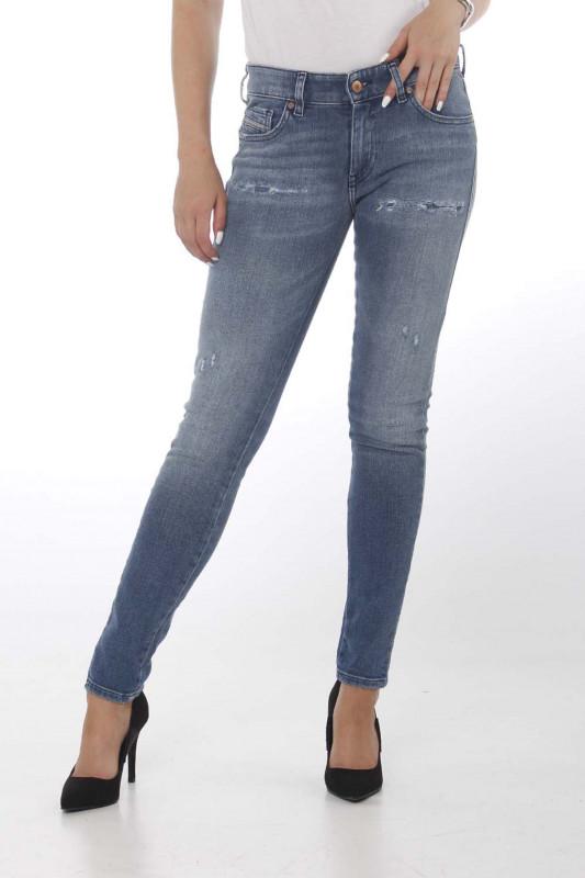 """DIESEL Damen Jeans - """"SLANDY-LOW denim 083AP"""""""