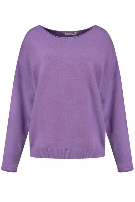 "CIRCLE OF TRUST Damen Pullover - ""Zane Knit purple plum"""