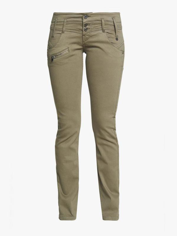 "FREEMAN T. PORTER Damen Jeans - ""Alexa Slim New Magic deep green"""