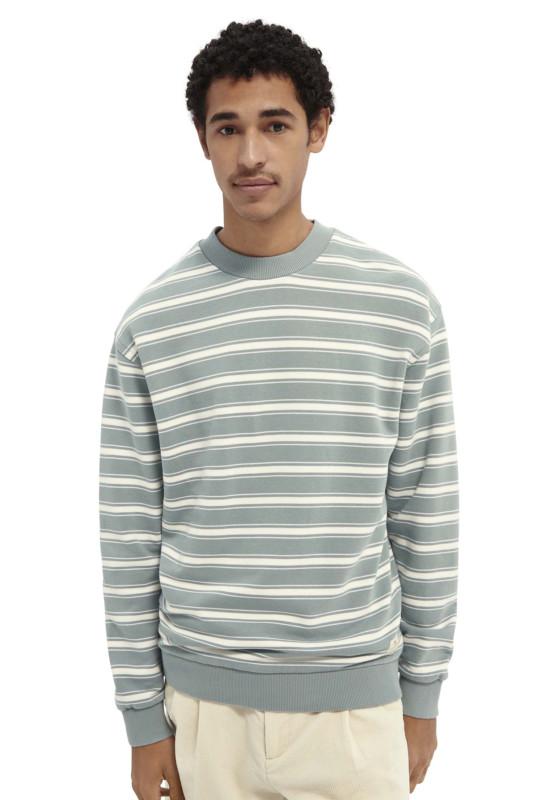 """SCOTCH & SODA Herren Sweatshirt - """"Striped Crewneck Felpa Sweat"""""""