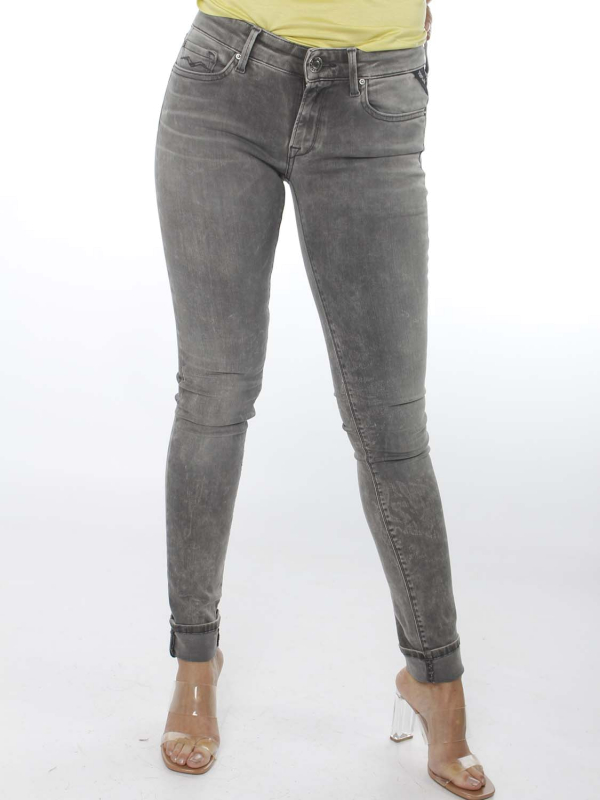 "Replay Damen Jeans - ""Luz Hyperflex grey"""