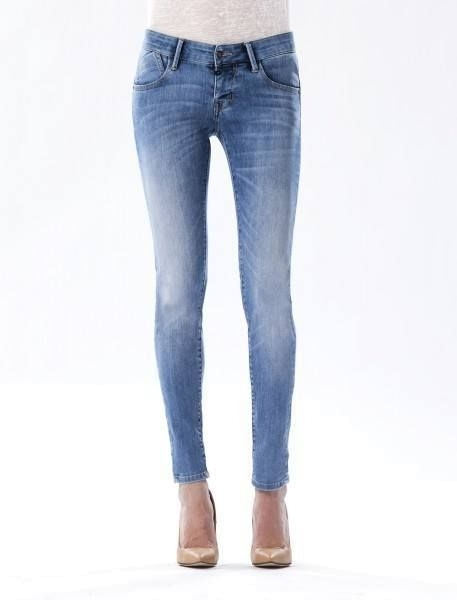"CUP OF JOE Damen Jeans - ""Gina medium blue"""