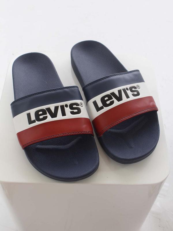"""Levis Herren Pantoletten - """"June sportswear royale blue"""""""