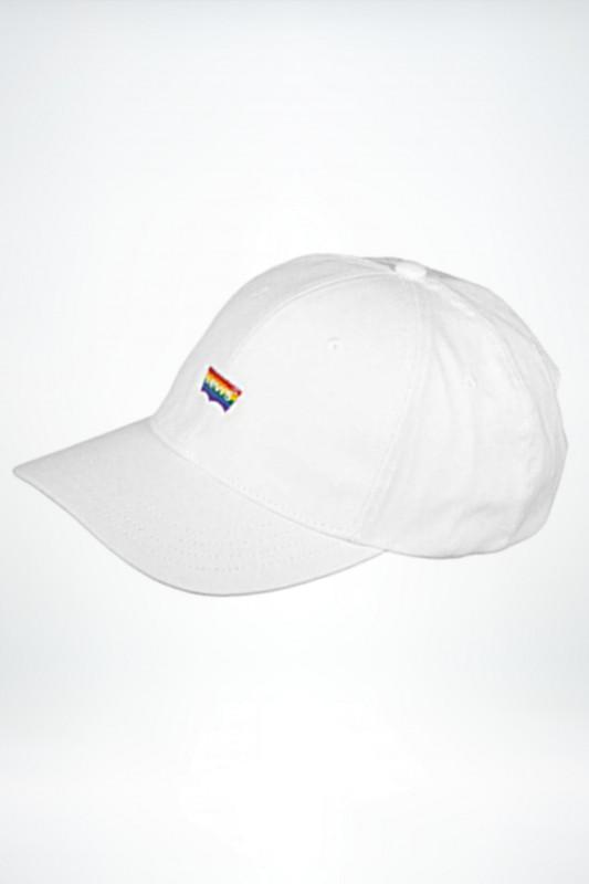 "LEVI'S Herren Cap - ""Pride Hat reg white"""