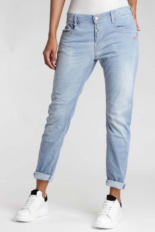 "Gang Damen Jeans - ""Gerda Slim Fit Deep Crotch Jeans"""