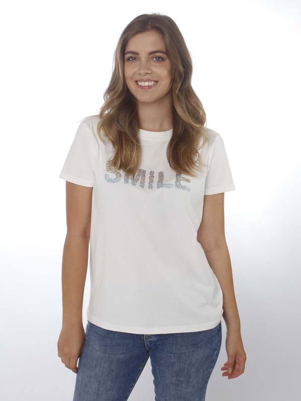 "Rue de Femme Damen T-Shirt - ""Smile Tee RdF"""