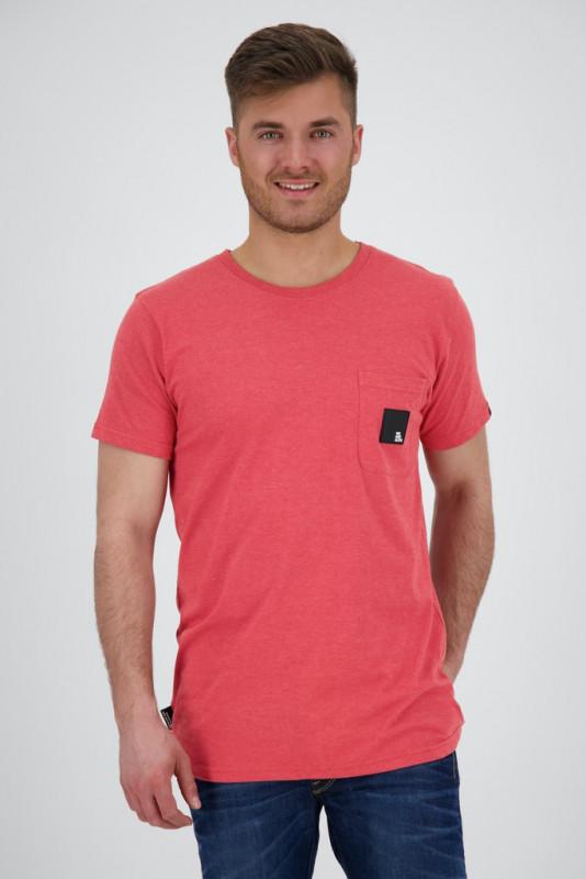 "ALIFE AND KICKIN Herren T-Shirt - ""Logo PocketAK T-Shirt fiesta"""