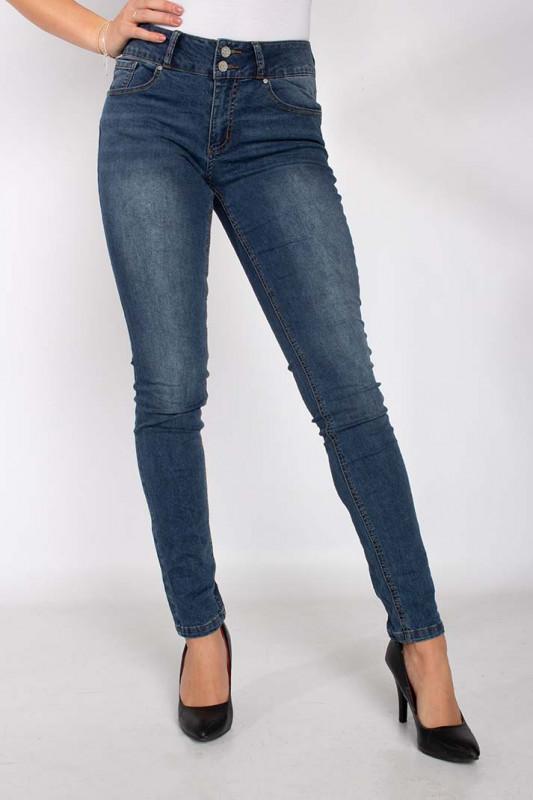 "BUENA VISTA Damen Jeans - ""Tummyless stretch mid stone"""