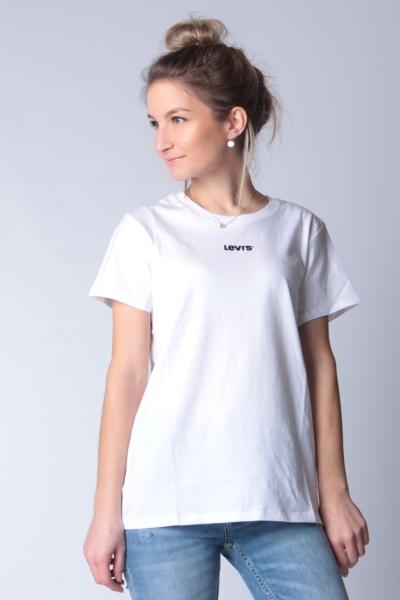 "LEVI'S Damen T-Shirt - ""The Perfect Tee Type Center white"""