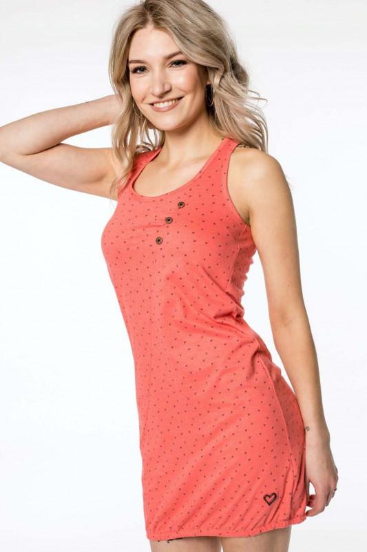 "ALIFE AND KICKIN Damen Kleid - ""CAMERON Dress coral"""