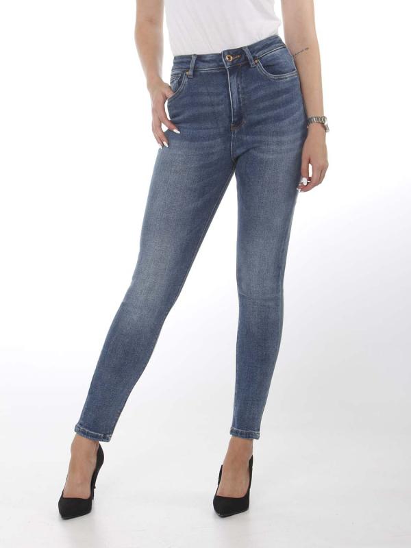 """ONLY Damen Jeans - """"Mila hw sk ANK BB BJI3994 med"""""""