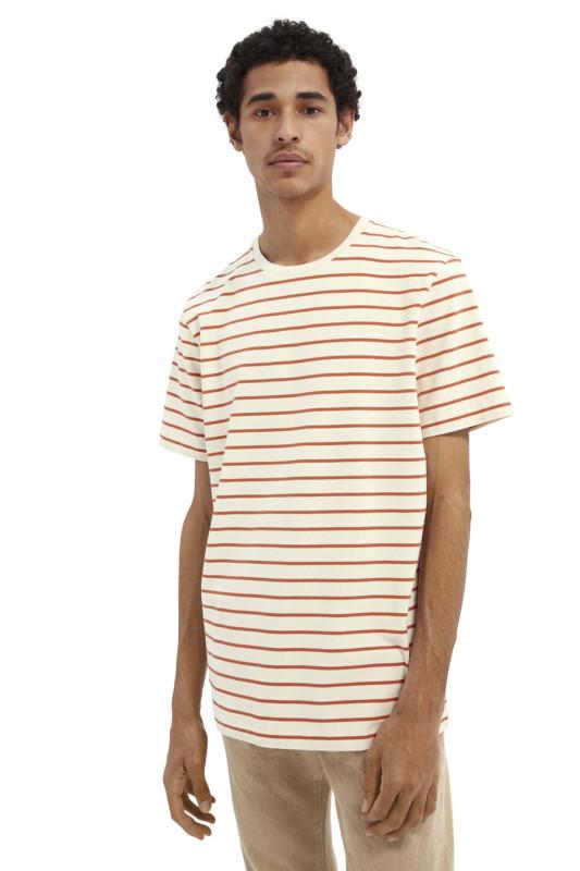 "SCOTCH & SODA Herren T-Shirt - ""Classic Cotton Jersey Crewneck"""