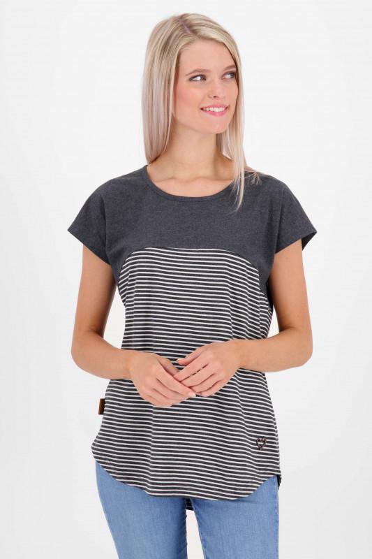 "ALIFE AND KICKIN Damen T-Shirt - ""ClaireAK T-Shirt marine"""