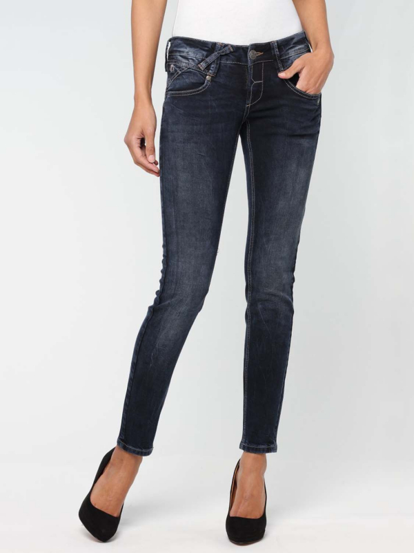 "GANG Damen Jeans - ""Nena brown Denim brown dream"""