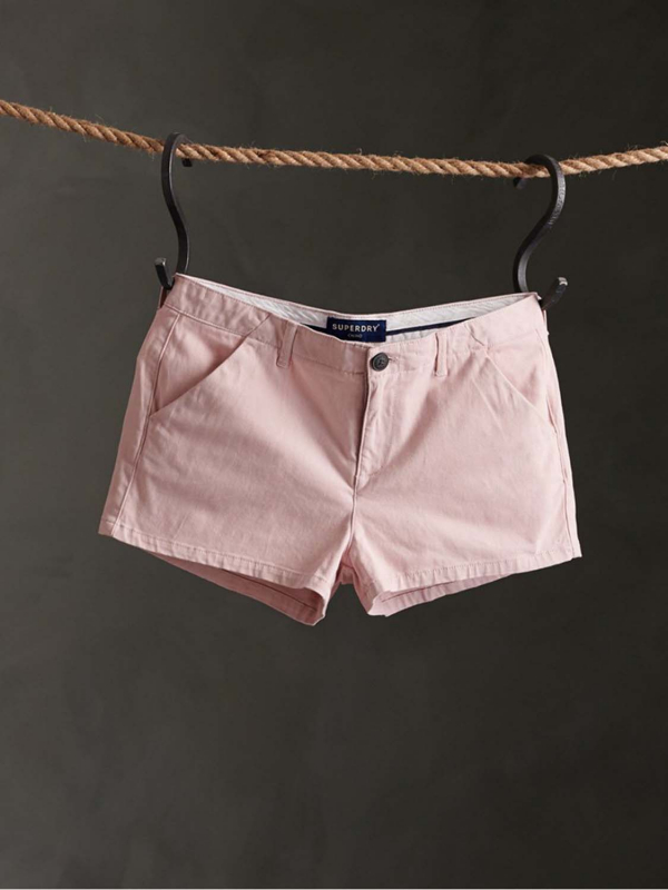 "Superdry Damen Shorts - ""CHINO HOT SHORT PEACH WHIP"""