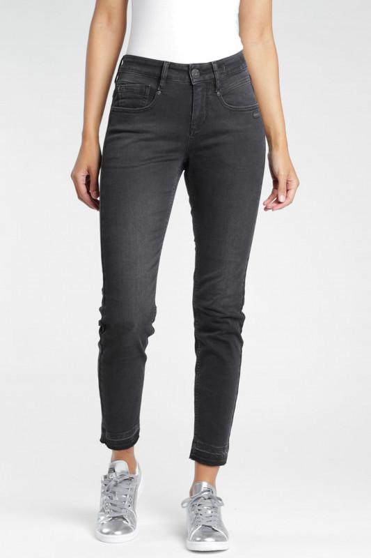 """GANG Damen Jeans - """"Massima Slim Fit High Rise Jeans black base wash"""""""