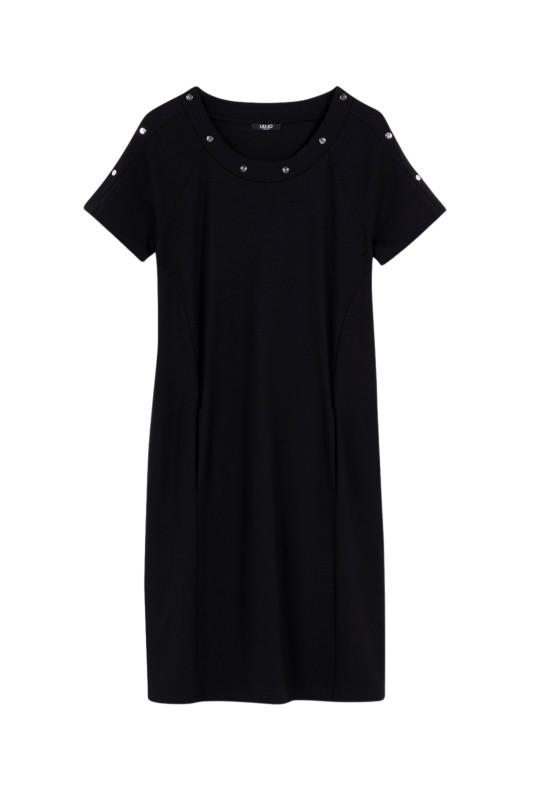 """LIU JO Damen Kleid - """"Kurzes Kleid mit Nieten"""""""