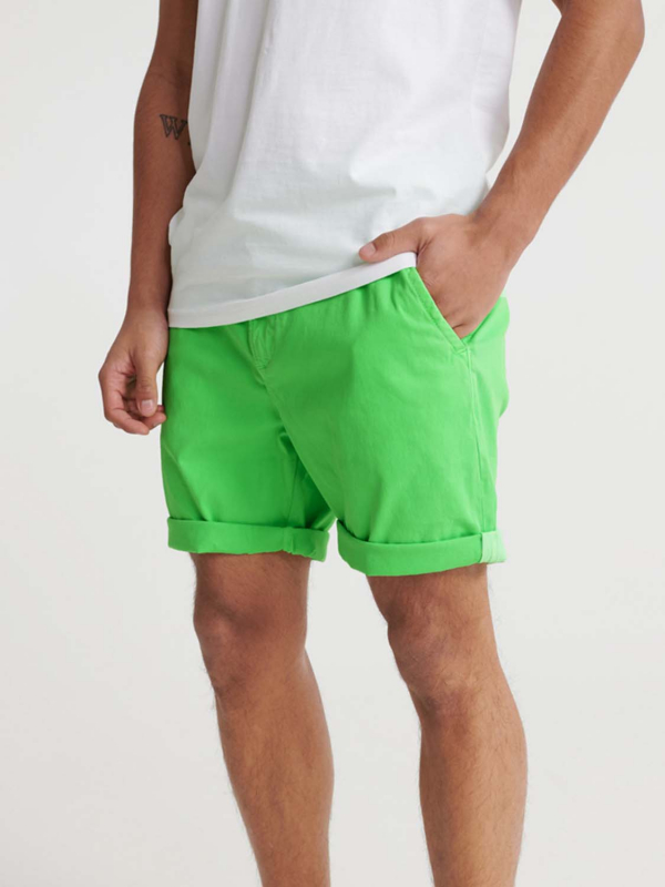 "Superdry Herren Shorts - ""SUNSCORCHED CHINO SHORT FLURO"""