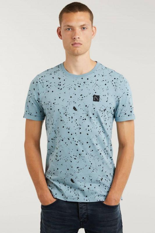 "CHASIN' Herren T-Shirt - ""Leo Shirt mid blue"""