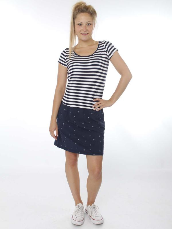 "Strange Damen Kleid - ""Tessa navy ships / navy stripe"""