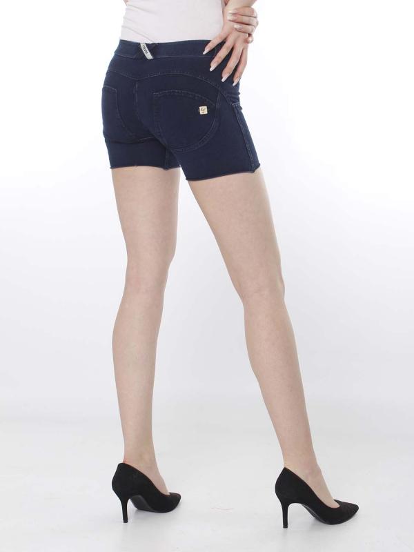 FREDDY WR.UP® Denim Shorts - Regular Waist - Dark Denim - Blue Seam - J0B