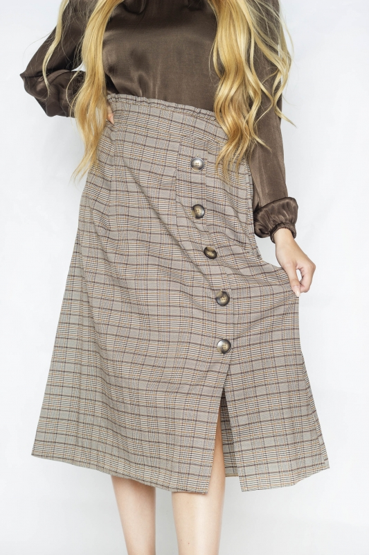 "FREEQUENT Damen Rock - ""Lulu Skirt sand mix"""