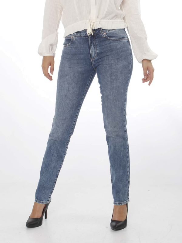 "WRANGLER Damen Jeans - ""Straght water blue"""