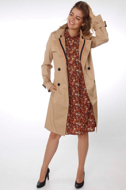 """FREEQUENT Damen Mantel - """"ESSI Jacket beige sand"""""""