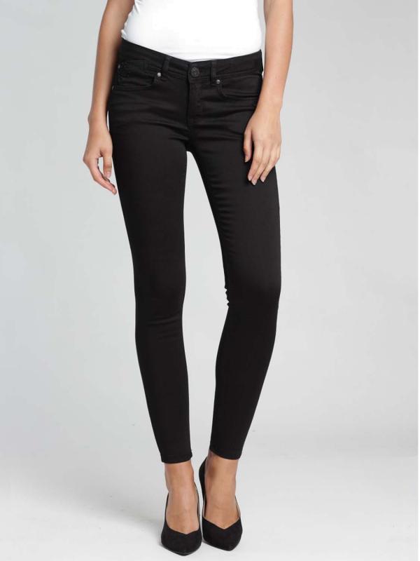 """GANG Damen Jeans - """"Faye satin black D"""""""