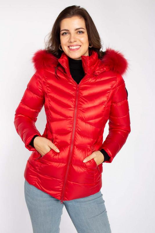 """BOMBOOGIE Damen Jacke - """"Winterjacke scarlet red"""""""