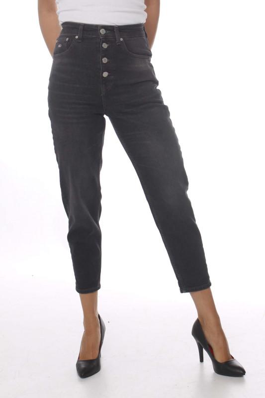 """Tommy Hilfiger Damen Jeans - """"Mom Jean black comfort"""""""