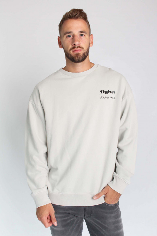 "TIGHA Herren Sweatshirt - ""Ciel Logo vintage porcelain"""