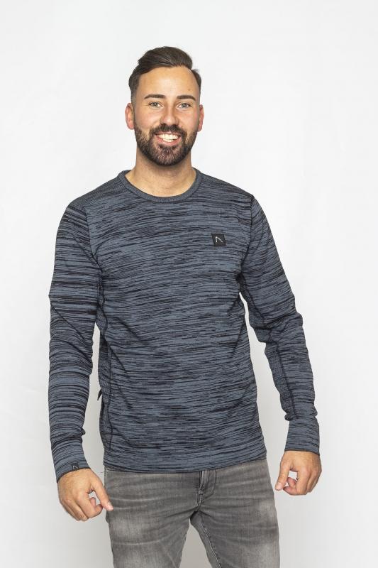 """CHASIN' Herren Sweatshirt - """"Noren Knit mid blue"""""""