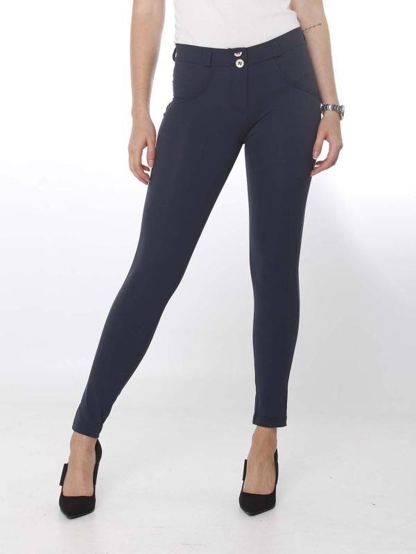 FREDDY WR.UP® - 7/8 Regular Waist Super Skinny - navy blue - B94 - D.I.W.O.® Pro Beauty Effect