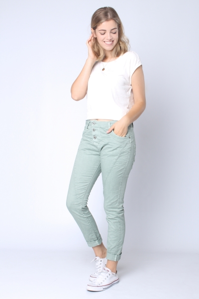 "PLEASE Damen Jeans - ""Trousers ice pastel 3135"""