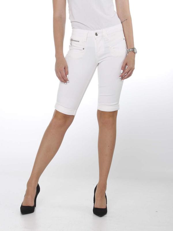 """Freeman T. Porter Damen Shorts - """"Belixa Super Stretch white"""""""