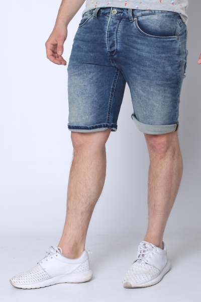"DSTREZZED Herren Shorts - ""The James B. Shorts Denim Sweat dandy blue"""