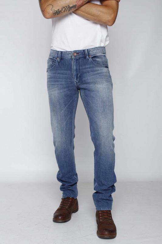 """PETROL Herren Jeans - """"SAMPSON light stone"""""""