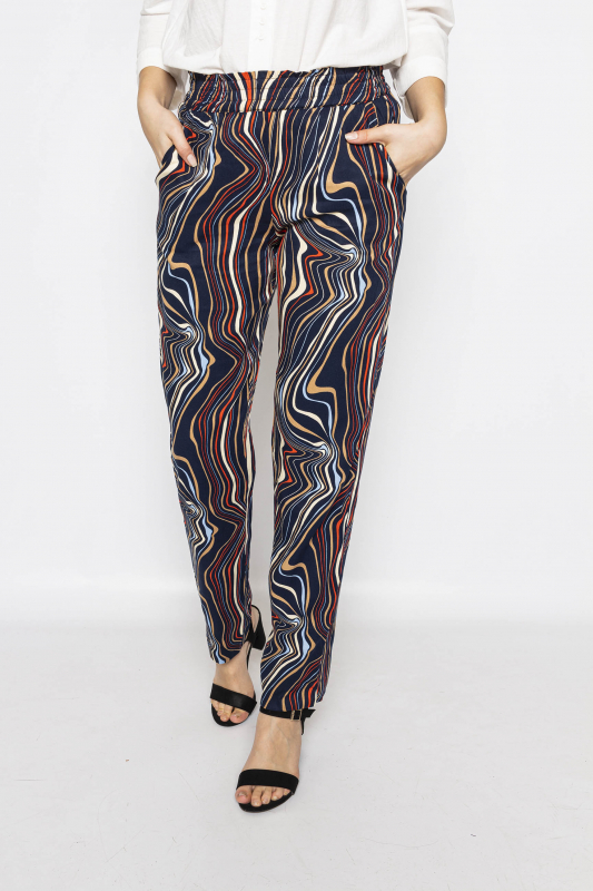 "MINUS Damen Hose - ""ILKA Pants wave print"""