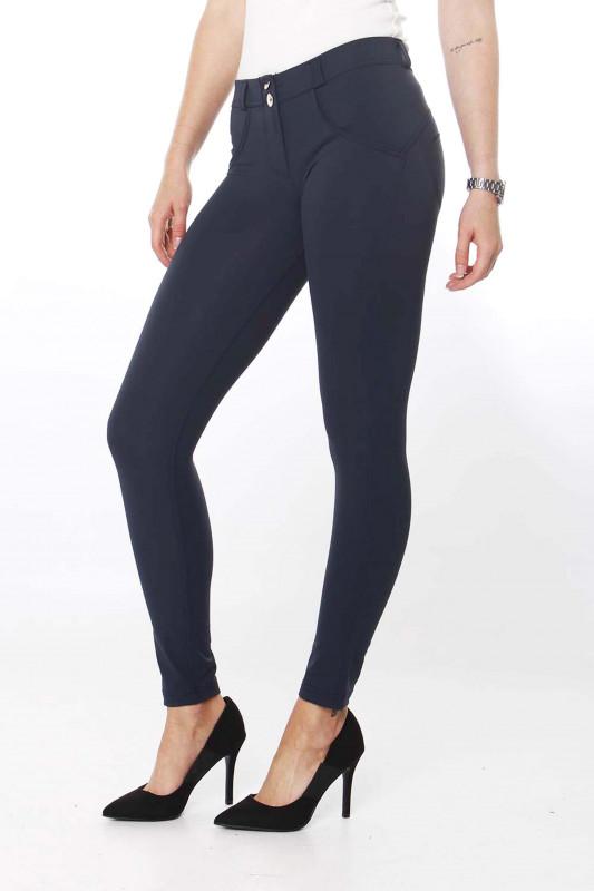 FREDDY WR.UP® - 7/8 Regular Waist Super Skinny - navy blue - B94 - D.I.W.O.® Pro Beauty Effect