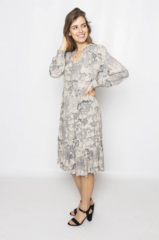 "MINUS Damen Kleid - ""ZIMRI antique print"""