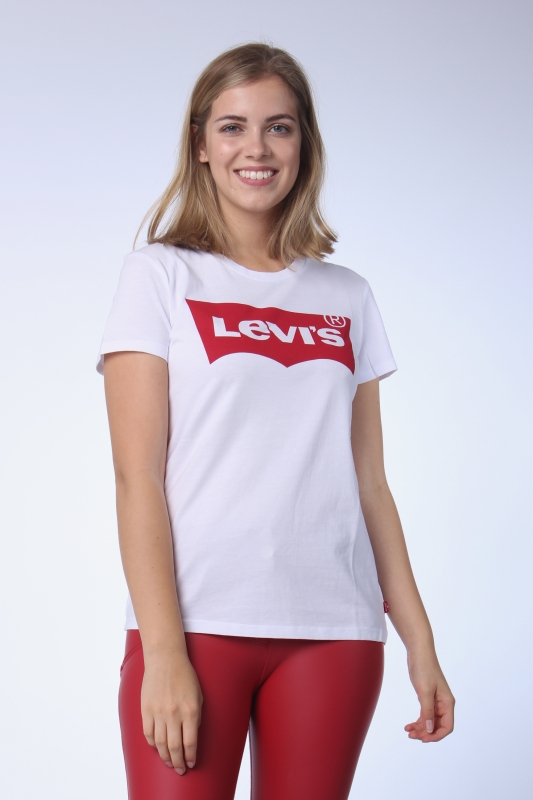 "LEVI'S Damen T-Shirt - ""The Perfect Tee Large white"""
